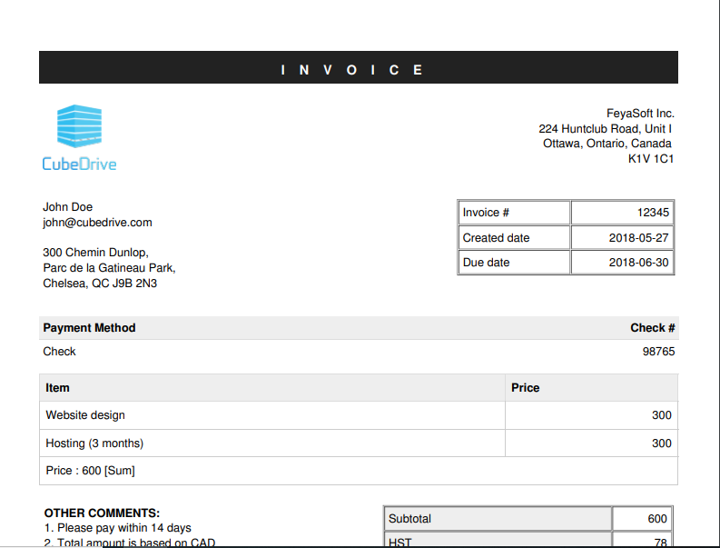 Invoice management manage customers invoice online and print form maxwellsz